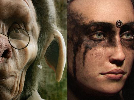 Realistic Creatures and Characters - Aaron Roller