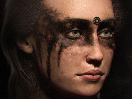 Commander Lexa - Fan Art of The 100 series.