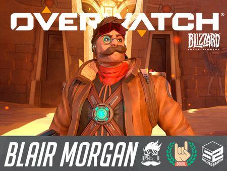 Blair Morgan, The Flamboyant Renegade Raider