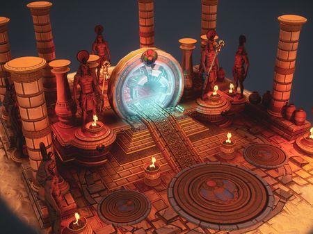 Egypt Portal Diorama