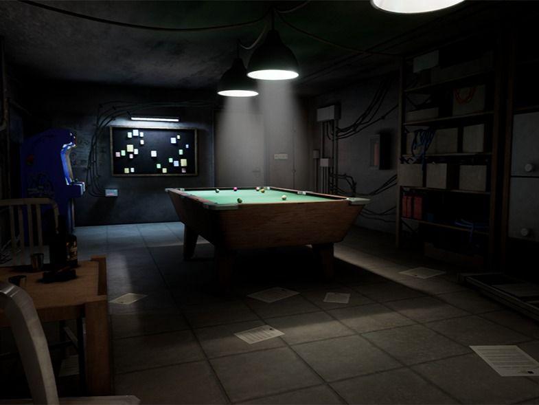 Secret Basement Game Environment