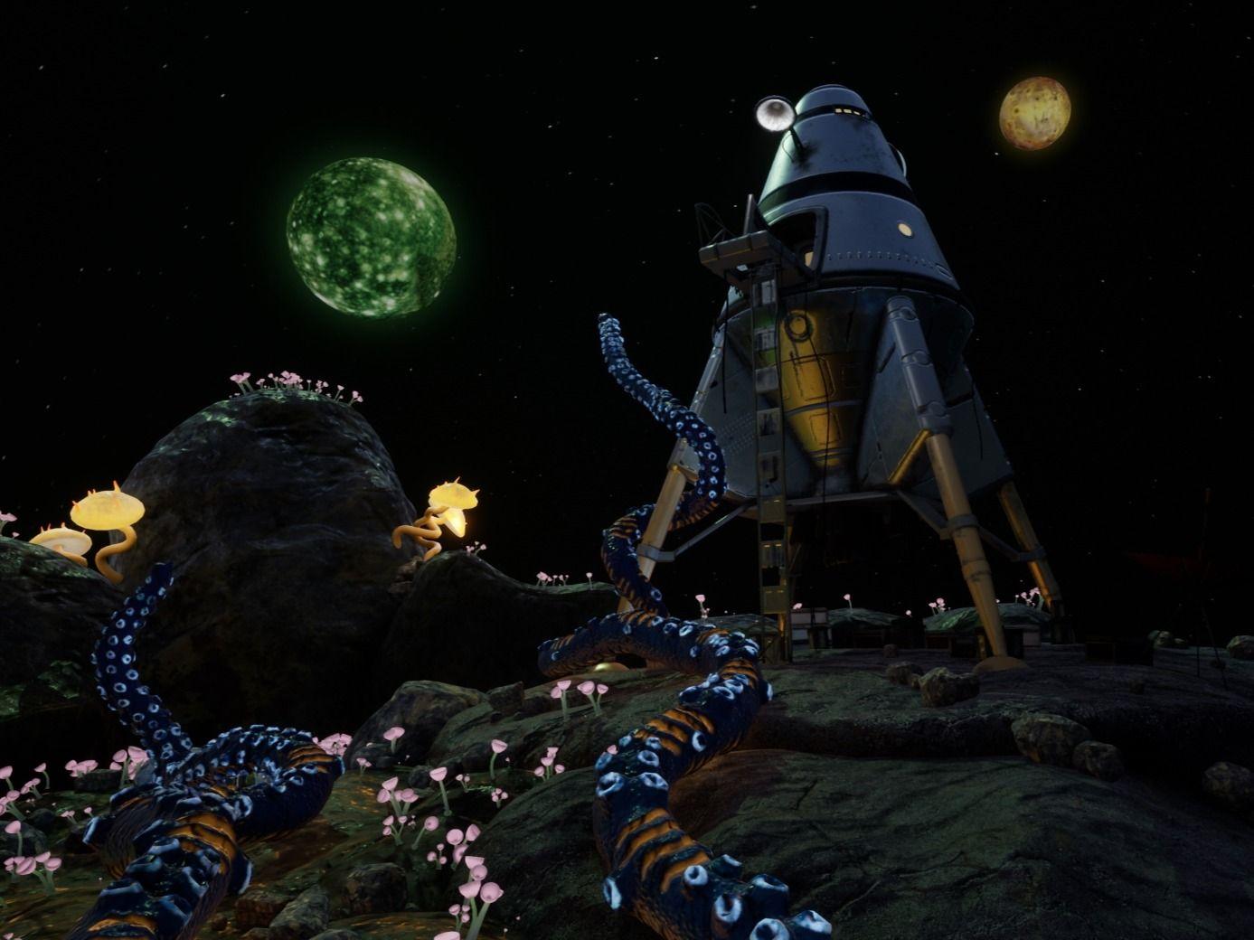 'Planet Morxia' | Otherworldly Diorama