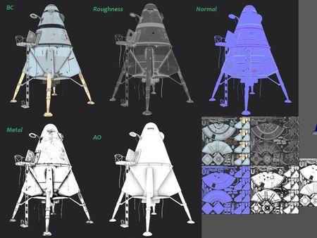 Planet Morxia Diorama | Breakdowns