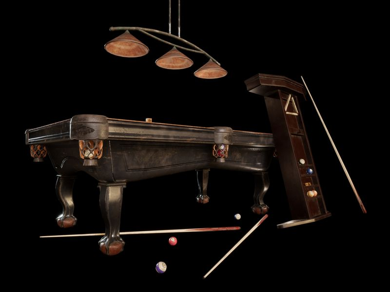 Pool Table & Accessories | Prop Specialism