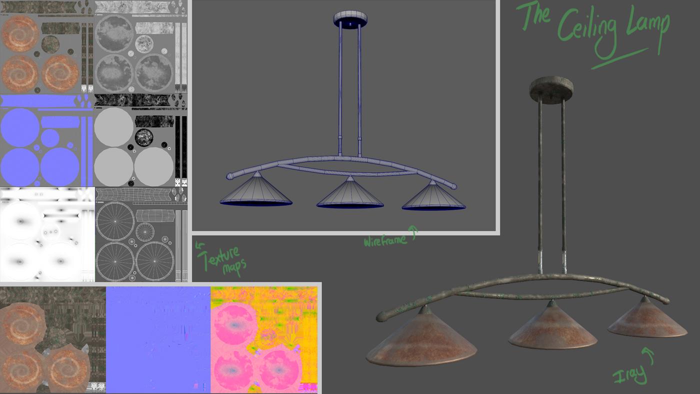 Ceiling Lamp 01 Abevilacqua
