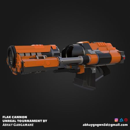 Flak Cannon Unreal Tournament
