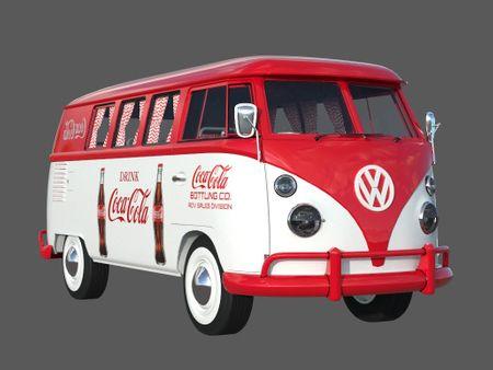 Coca Cola Kombi Van
