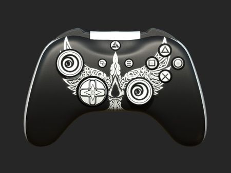 Gaming Controller with Assassins Creed Skin