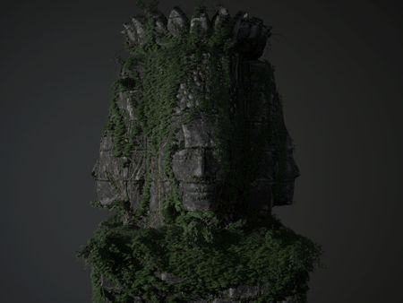 Religious Monument Game Asset (Angkor Wat)