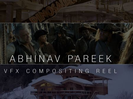 VFX Compositing Reel - Abhinav Pareek