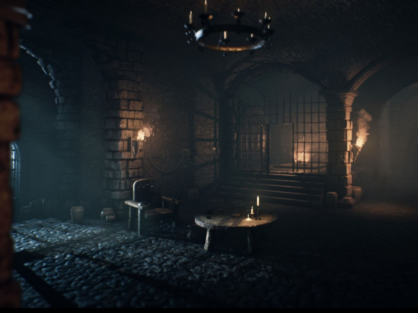 Fantasy Crypt Atmosphere