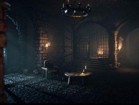 Fantasy Crypt Atmosphere