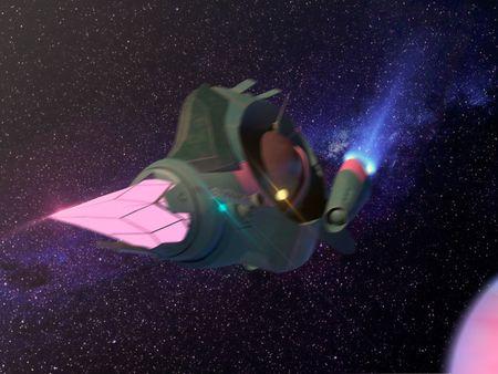 Scifi-spaceship | Naut-X11