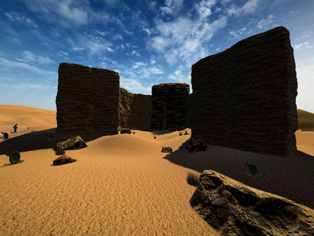 My desert environment