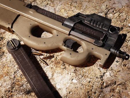 Game-ready FN P90