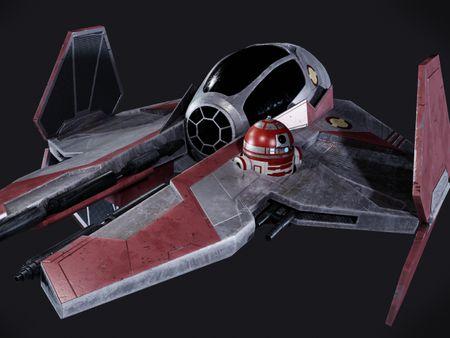 Jedi Fighter / R4 P17