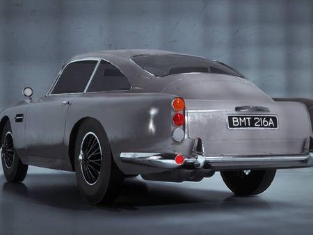 Aston Martin DB5 in Unreal Engine 5