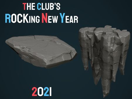 The Club's ROCKing New Year Challenge 2021