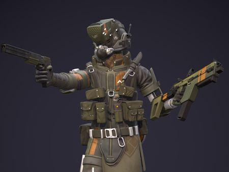 Raider Pilot - Game Ready Models