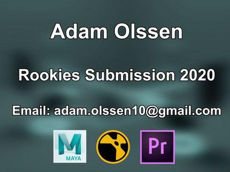 Adam Olssen Rookies Submission