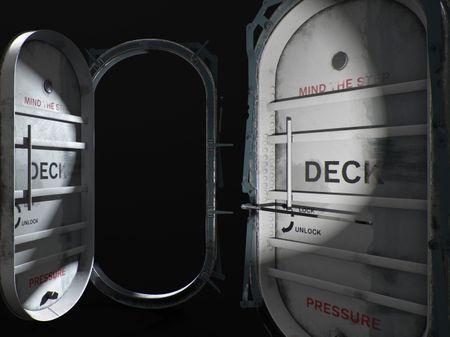 Ship door!