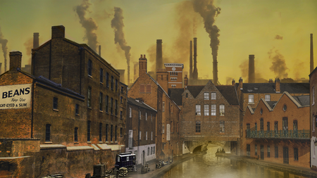 Peaky Blinders Industrial Environment Concept