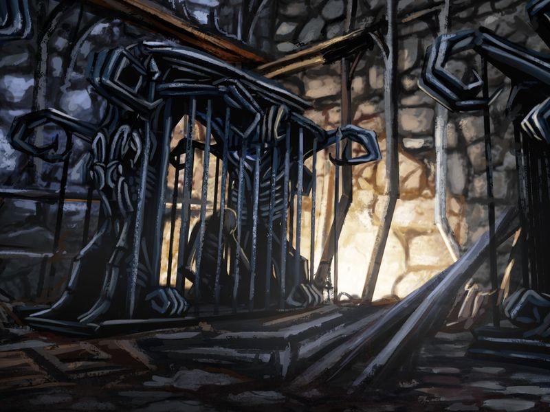 Skeleton Cage (Asset Concept)