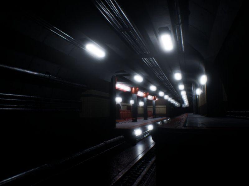Subway Scene