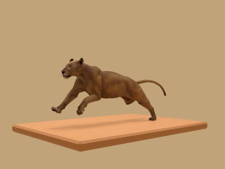 Lion Run Cycle