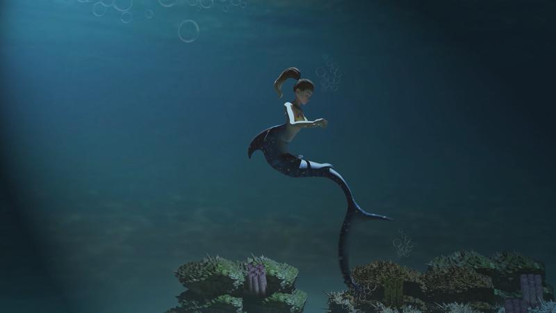 Mermaid - Plastic Pollution Advert