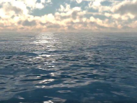 Maya Water Simulation