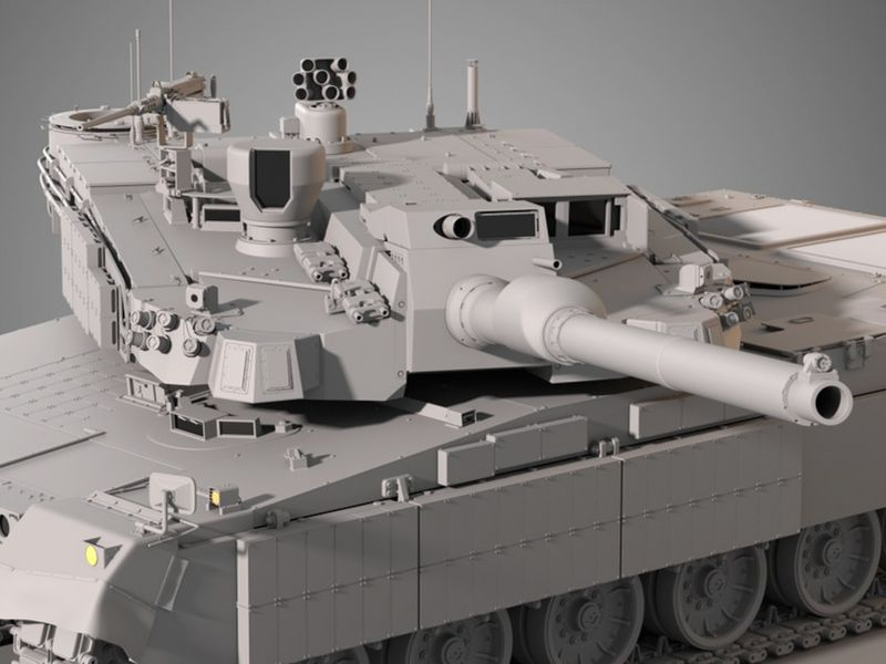K2 Black Panther - Highpoly
