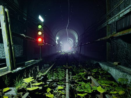 Subway of the Unknown - UE4