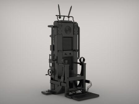 Wolfenstein: The Old Blood - Electric Chair ( FAN ART)