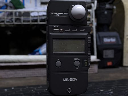 Dad's Minolta Flash Meter IV