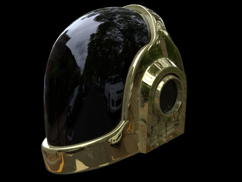 Daft Punk's Helmet