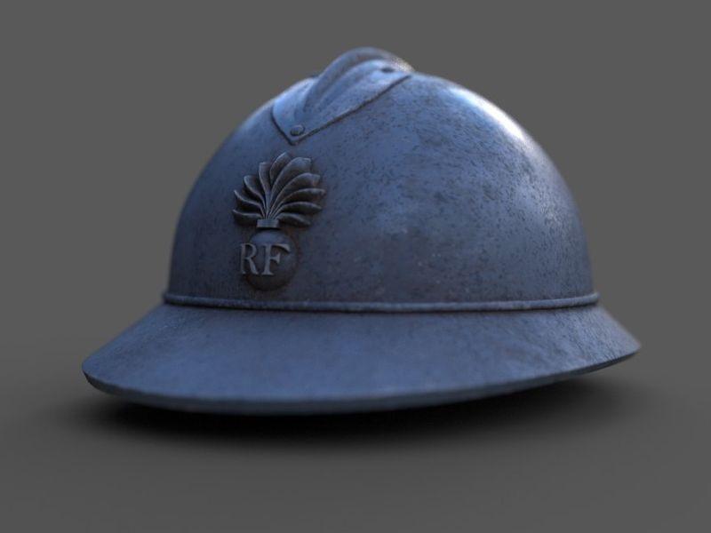 French Helmet 1914