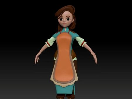 Wingfeather Sage Character Modeling
