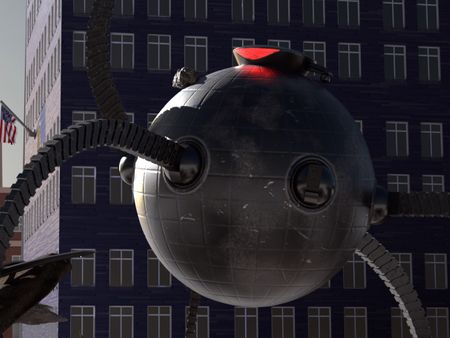 The Incredibles - Omnidroid