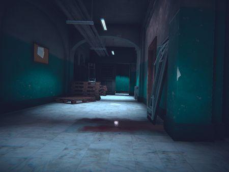 Resident Evil 2 Remake fanart environment