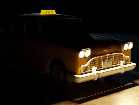 Checker Marathon Taxi 1950s