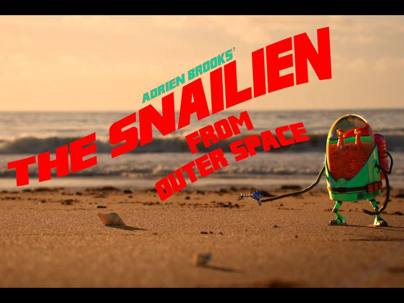 The Snailien from outer space