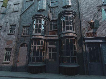 Ollivander's Wand Shop - Harry Potter
