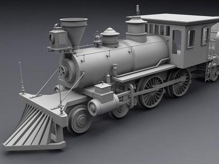 Old setam locomotive