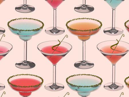 Martini & Margarita Pattern