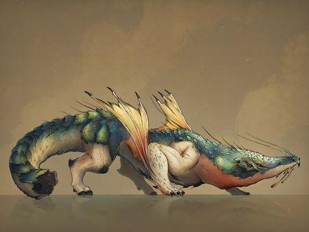 Nemesya : Fhafnïr & other creatures