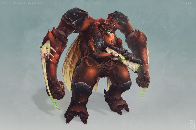 Goliath - Insect Warrior