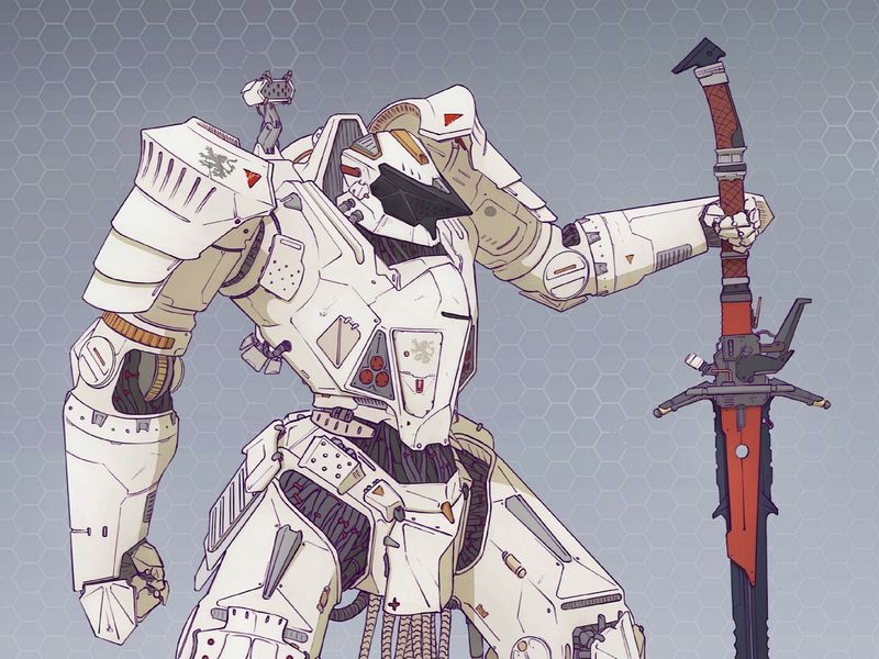 Nemesya : 'Starknight' Battle Exo-skeleton