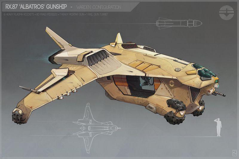 Albatros gunship