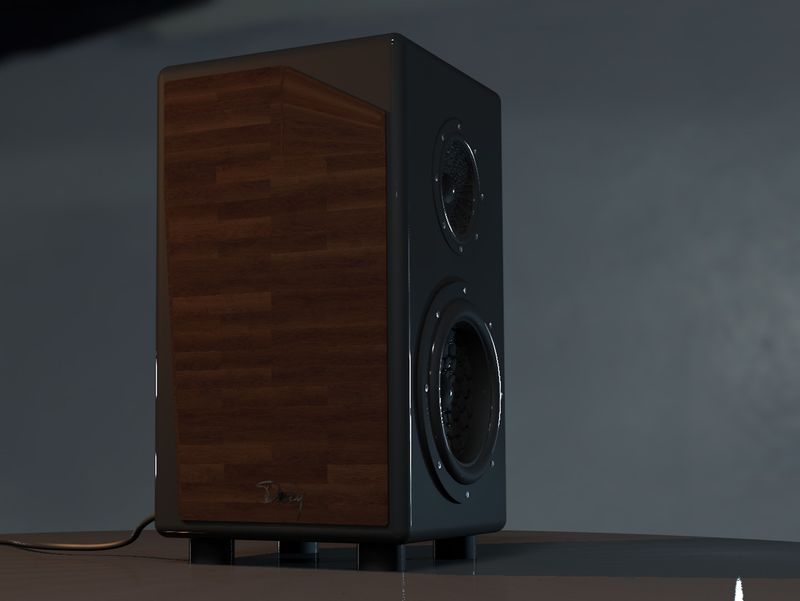 Wood Style Subwoofer